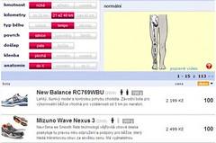 Vyzkoušejte online poradce při výběru bot