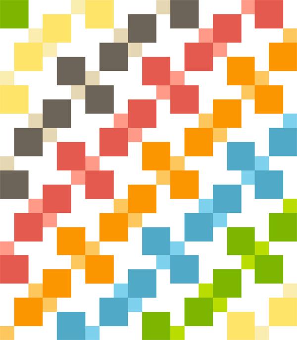 Kaleidoscopic Kites Free Quilt Pattern
