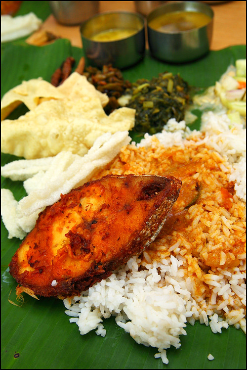 banana-leaf-rice