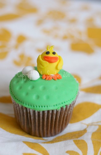 Easter Theme Cupcakes