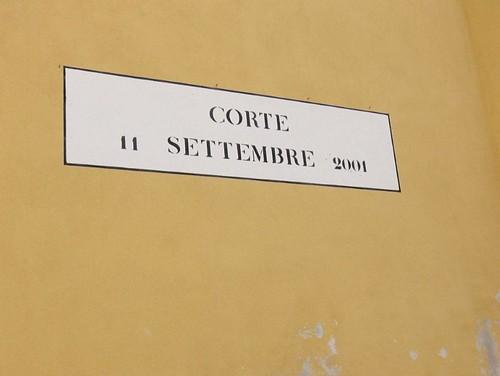 Corte 11 Settembre 2001
