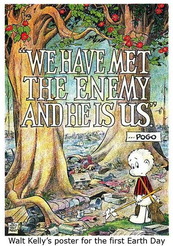 Walt Kelly's Poster for the First Earth Day - 1970