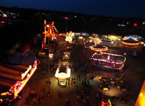 Carnival Tilt Shift