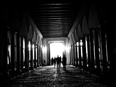 towards the exit (Brett Elmer) Tags: white black canon spain seville espana alcazar g11 iphotooriginal flickrunitedaward spain201011