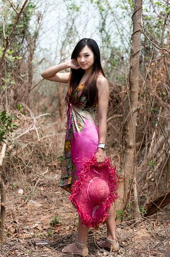 フリー写真素材, 人物, 女性, アジア女性, ドレス, 台湾人,