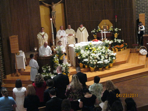 4/23/11: Easter Vigil Mass