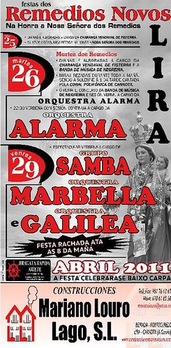 Carnota 2011 - Remedios Novos de Lira - cartel