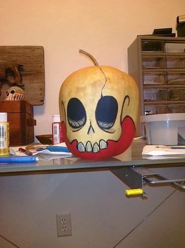 Apple Gourd Skull by Zook74