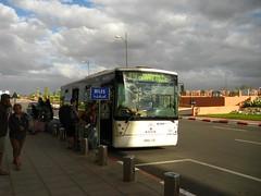 Autocarro para o aeroporto de Marraquexe Menara