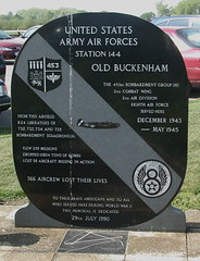 OLD BUCKENHAM (BIKEPILOT) Tags: old flying airport memorial aviation airfield usaaf buckenham aircrft egsv 453rdbombardmentgroup