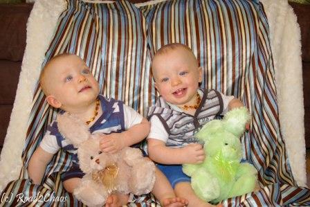 Kason & Cohen - 11 months!