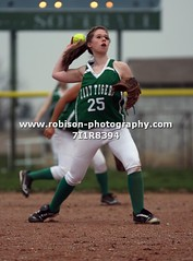 7I1R8394 (warren.robison) Tags: girls sports girl sport ball out photography action central first indiana christian highschool varsity softball bethesda pitcher triton basemen filder fairland ihsaa