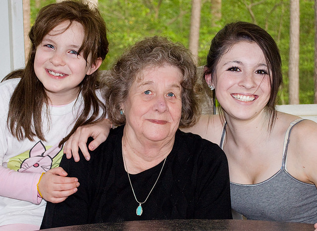 Grandma & the girls