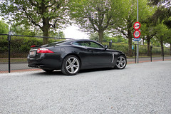 The most beautiful car in the world? (Arjandeiro) Tags: auto cars car 2006 motor jaguar ghent xkr