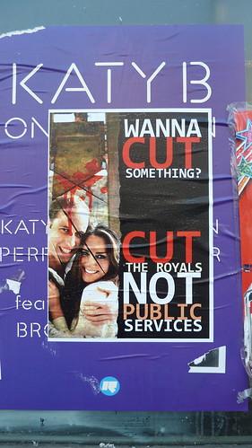 Cut the Royals Not Public Services