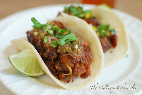 Fat Tire® Braised Carnitas Tacos