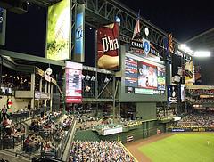 Chase Field (bdinphoenix) Tags: arizona nikon baseball d2x diamondbacks mlb barrywilliamsphotography
