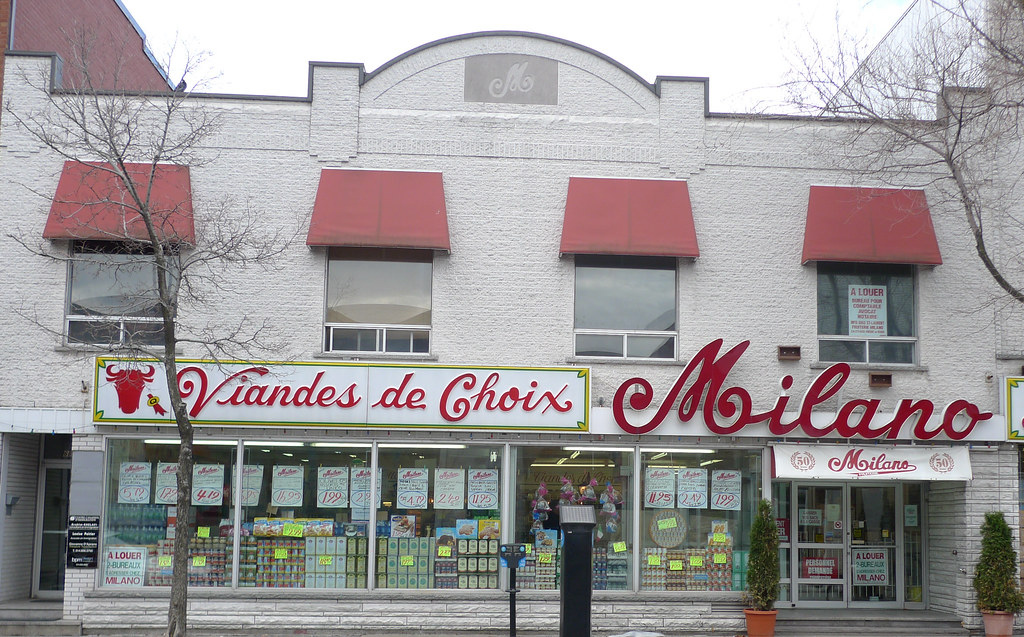 Copyright Photo: Milano- Italian Grocer in Little Italy, Montreal by Montreal Photo Daily, on Flickr