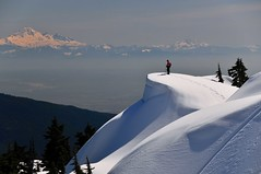 Seymour's Vista (Grant Mattice Photography) Tags: snow spring nikon flickr bc view britishcolumbia vista backcountry snowshoeing jd mountbaker provincialpark shuksan recreational mountseymour northshoremountains april2009 grantmattice
