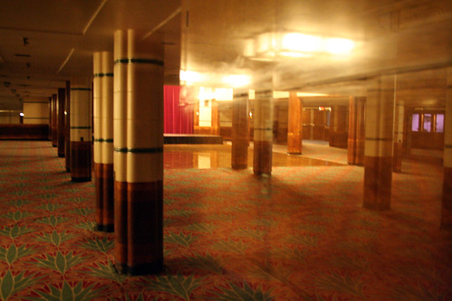 Queen Mary - Former Second-Class Lounge (Now Brittania Room)