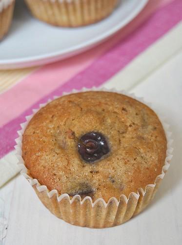Cherry muffins (gluten-free)