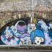 Street Art In Belfast (near the Hilton hotel)