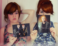 18/52 - Weasley twins (Lunayda) Tags: sign james ginger photo twins oliver williams redhead phelps weasley 52s nikond5000