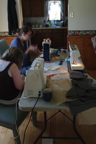 Sewing with Friends