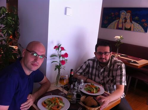 Zaragoza | Baobab | Carlos y Javier (de derecha a izquierda)