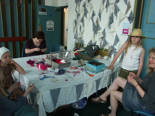 Larkhall Festival - Scrap Heart Workshop