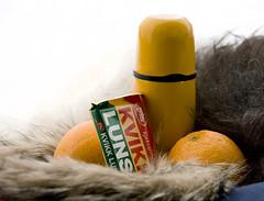 Norwegian Easter (peder.pili) Tags: orange white snow yellow norway easter chocolate olympus sp550