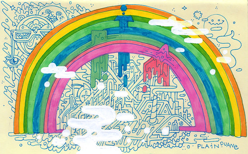 rainbow city by jeremy pettis