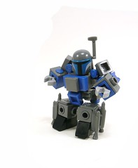 Jango fett, Chubbleh at your service. (Lego Junkie.) Tags: star is day with lego you may be wars fourth today jango fett the