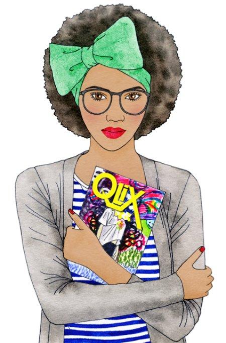 Qlix magazine illustration  by I Missy You