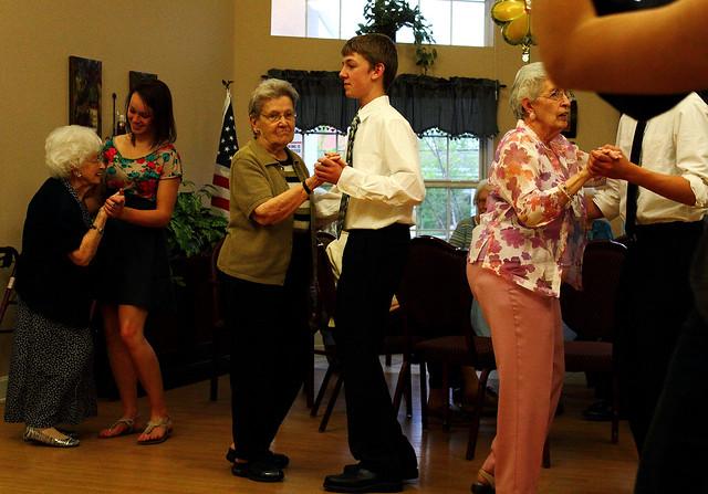 senior citizens prom