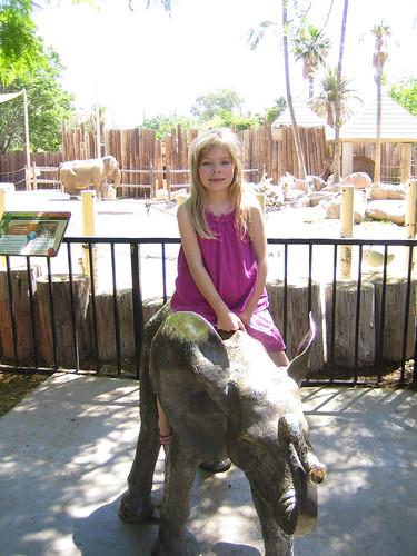 Erika at Reid Park Zoo