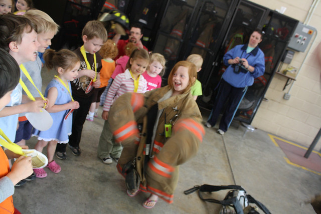 fire station field trip • preschool - 22