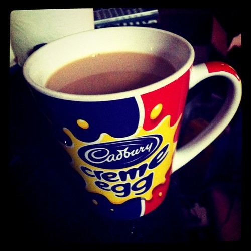 Cup of tea in the morning!