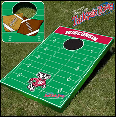 Wisconsin Bean Bag Toss Game