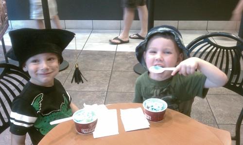 Preschool graduation ice cream