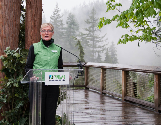 Nancy Stibbard, Owner and CEO of Capilano Group