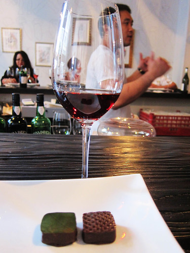 Filipino Chocolate and Wine Pairing