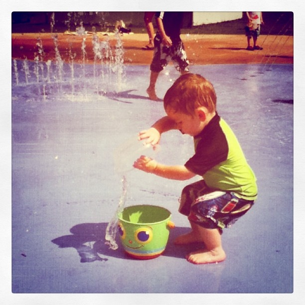 Splash pad fun!!