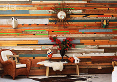 Design*sponge (Our Designed Life) Tags: wood designsponge woodenwalls salvagedwood