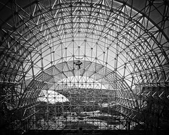Biosphere 2 LEO (BlackRockBacon) Tags: arizona blackandwhite buildings project oracle architechture leo biosphere science