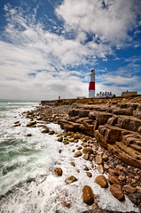 Portland Rocks. (Flipper24.) Tags: uk dorset portlandbilllighthouse nikond90sigma1020mm