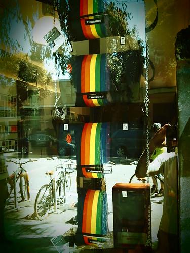 Timbuk2 Retail Store Pride Messengers 2011