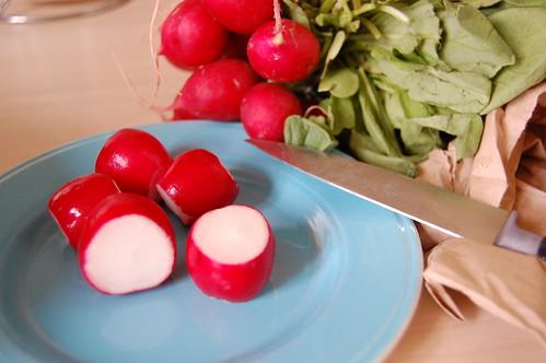 Yum radishes