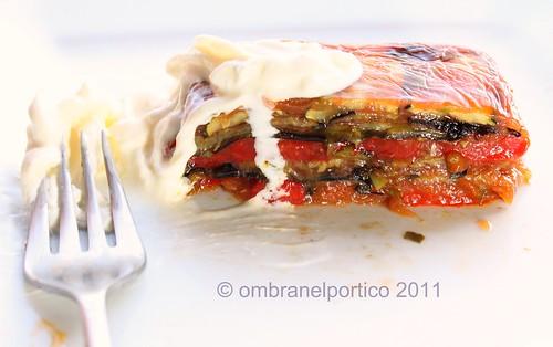 Terrina di verdure e chutney di pomodoro