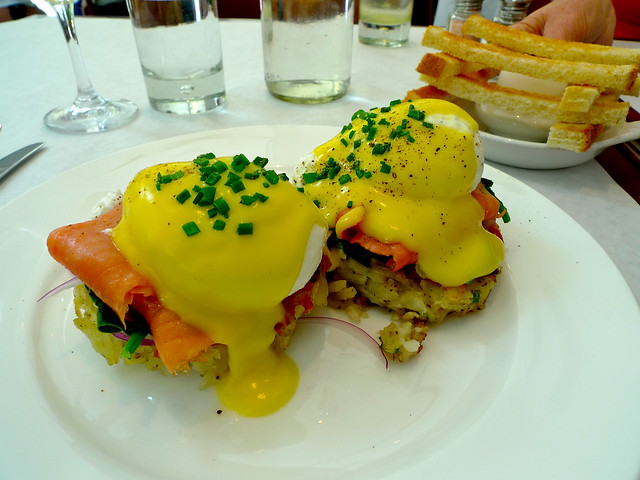 One of the best breakfasts I've ever had, at Bottega Louie